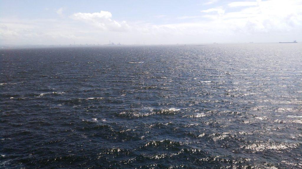 海ほたるからみた光景
