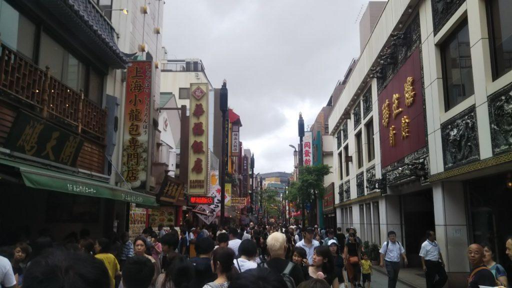 横浜中華街 自分ツッコミくま