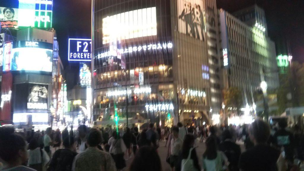 渋谷駅スクランブル交差点