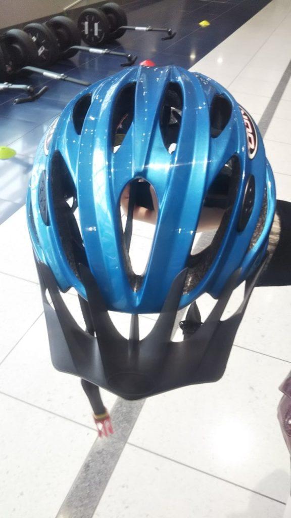 名古屋空港セグウェイツアーのヘルメット