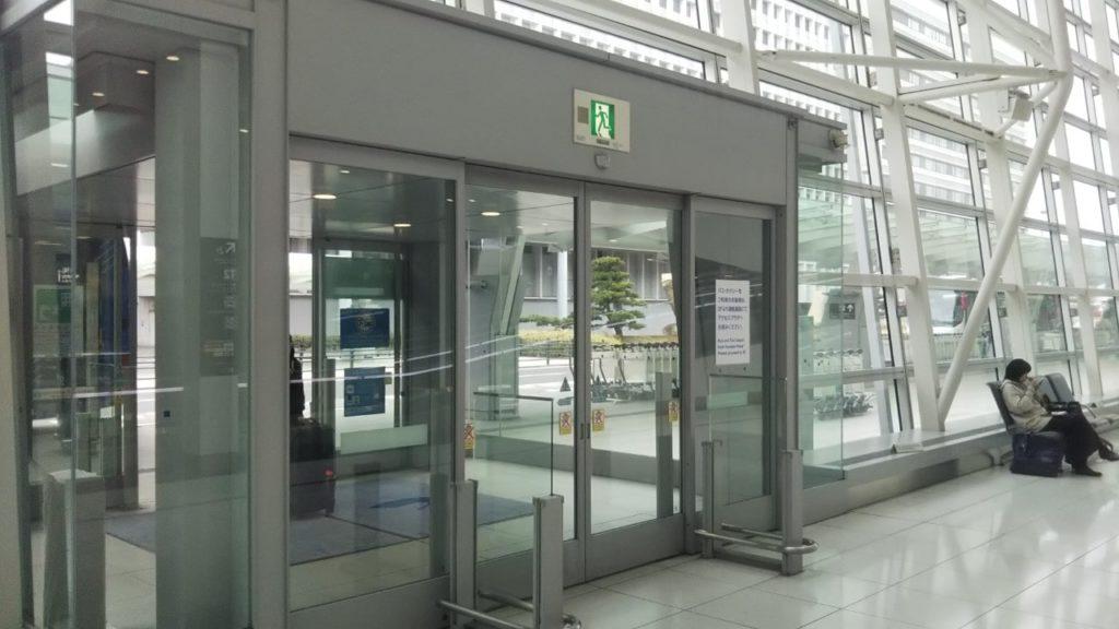 名古屋空港の出口