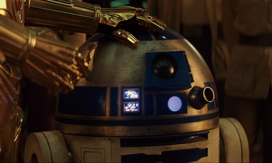 R2D2 ルークスカイウォーカーの夜明け