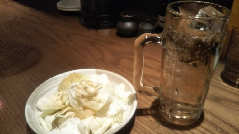お茶漬けダイニング茶らく 自分ツッコミくま 串カツセットとシメ茶漬け