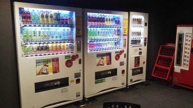 吉祥寺オデヲン2階の自販機