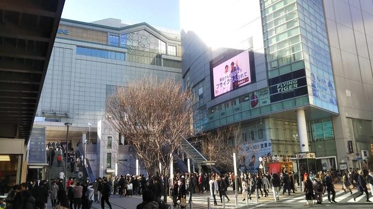 K's cinema JR新宿駅 東南口