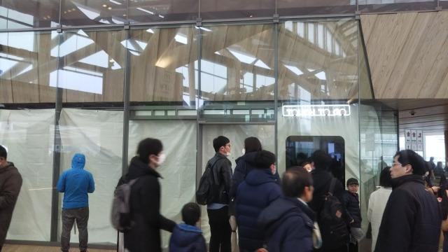 高輪ゲートウェイ駅のTouchToGo