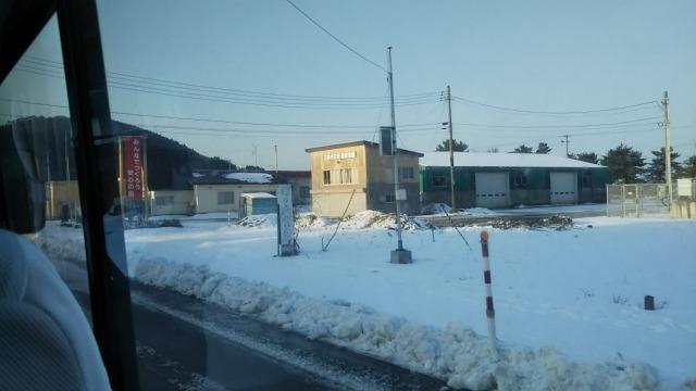 バスからの光景