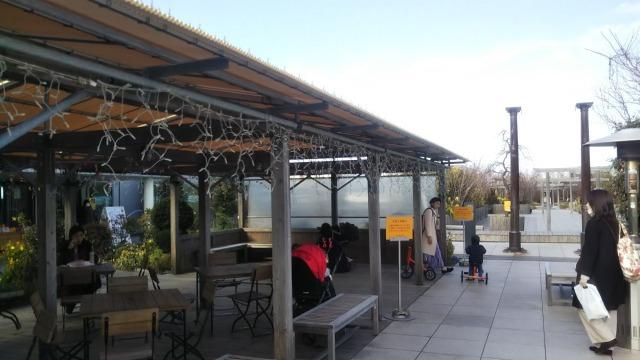 JR博多シティの屋上