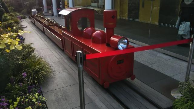 JR博多シティの電車