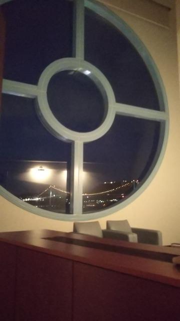 プレミアムホテル門司港のスイートの窓