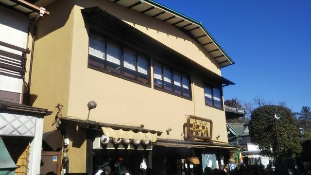 成田山新勝寺の食べ歩き
