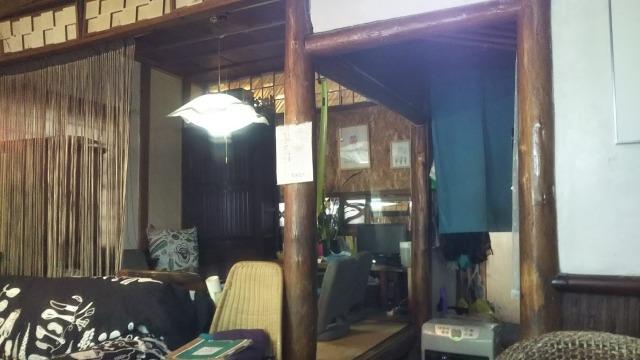 旧軽井沢銀座ストリートの横道にあった丸寛食堂