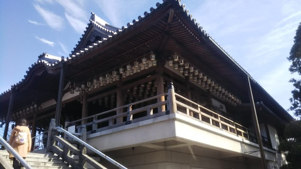 高崎観音の本堂