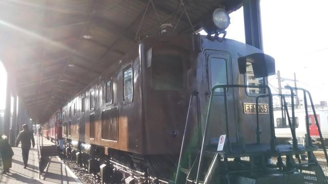 九州鉄道記念館のEF10 35(東芝)