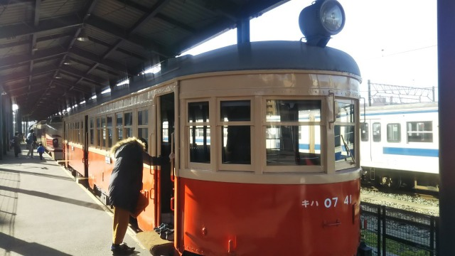 九州鉄道記念館のキハ07 41(日本車両)