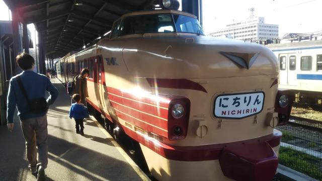 九州鉄道記念館のクハ481-603(日本車両)