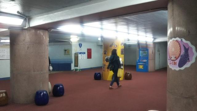 海底トンネル(地下)