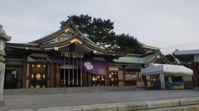 亀山八幡宮の本殿