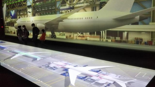 Flight of DreamsのBoeing Factory