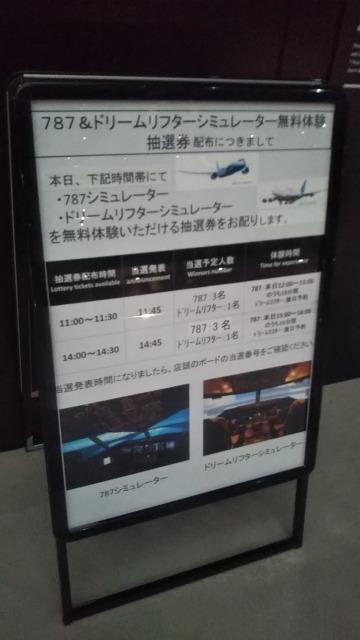 Flight of DreamsのSimulator 787シミュレーター