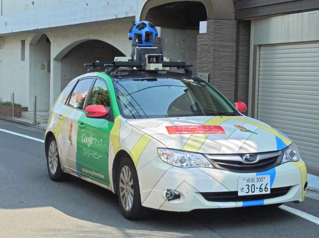 Google ストリートビュー撮影車