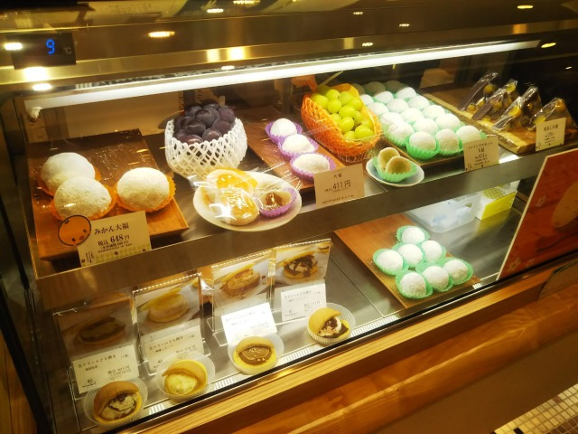 渋谷ヒカリエの和菓子村上