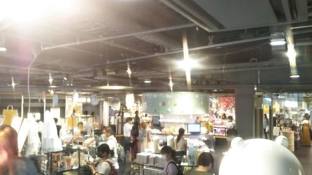 ナガノ展のグッズ売り場
