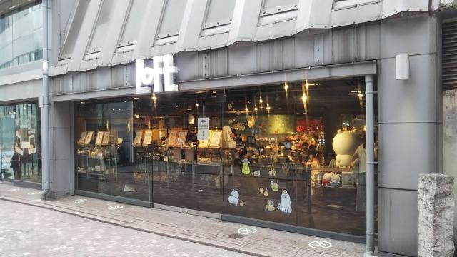 渋谷LOFTのナガノ展