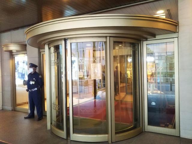 帝国ホテル東京入り口