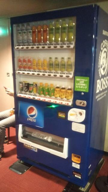 池袋シネマ・ロサの自動販売機