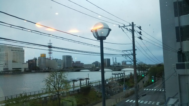 T・ジョイ 新潟万代から見える信濃川