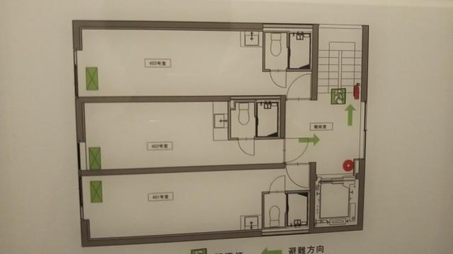 シアテル羽田の4階