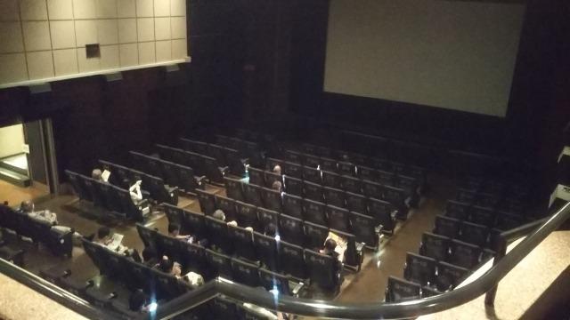 シネスイッチ銀座のシアター1の2階席