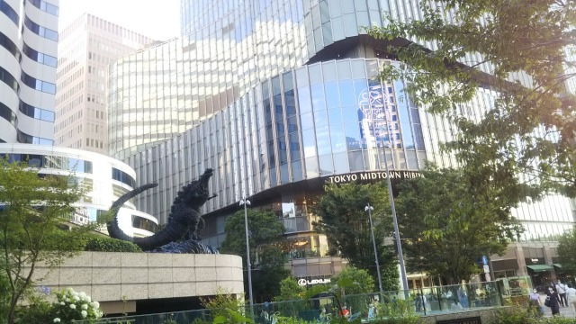 日比谷のゴジラ
