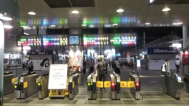 高松駅ホーム