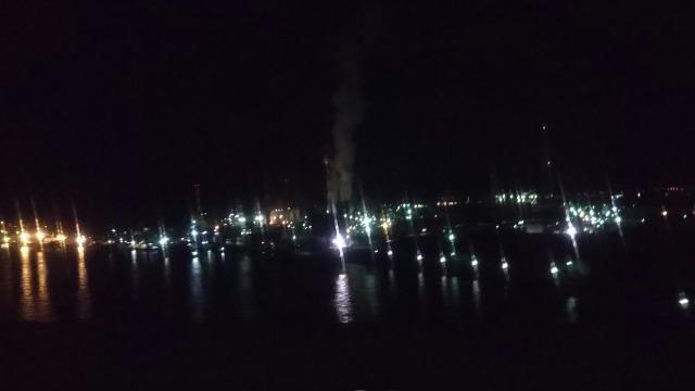 サンライズ瀬戸から観た光景
