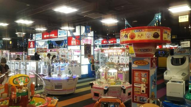 シネマサンシャイン平和島のゲームセンター