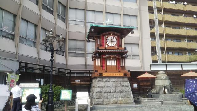 道後温泉駅坊ちゃん時計