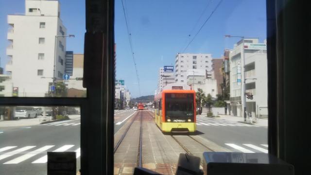 松山市の路面電車